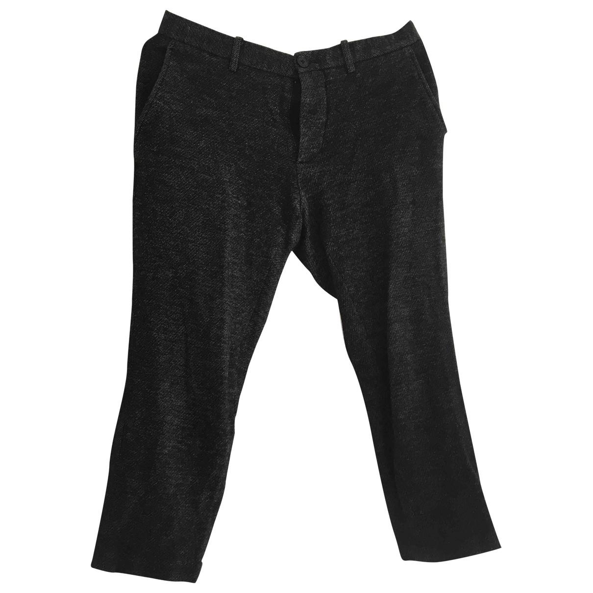 Joseph \N Grey Wool Trousers for Men 48 IT