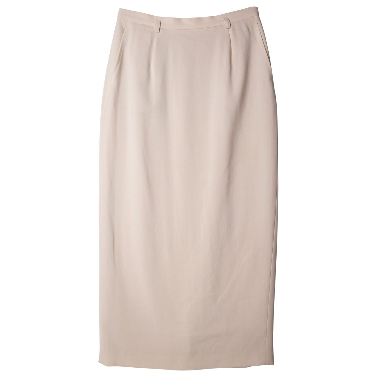 Non Signé / Unsigned \N Beige skirt for Women S International