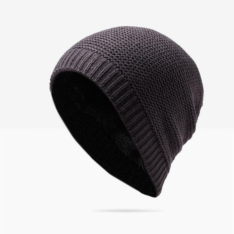 Winter Knitting Good Stretch Beanies Hat For Men Women Casual Warm Soft Skullies Bonnet Hat