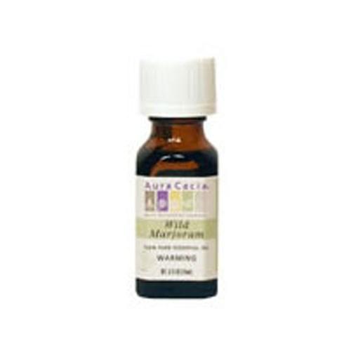 Essential Oil Marjoram (thymus masticina) 0.5 Fl Oz by Aura Cacia