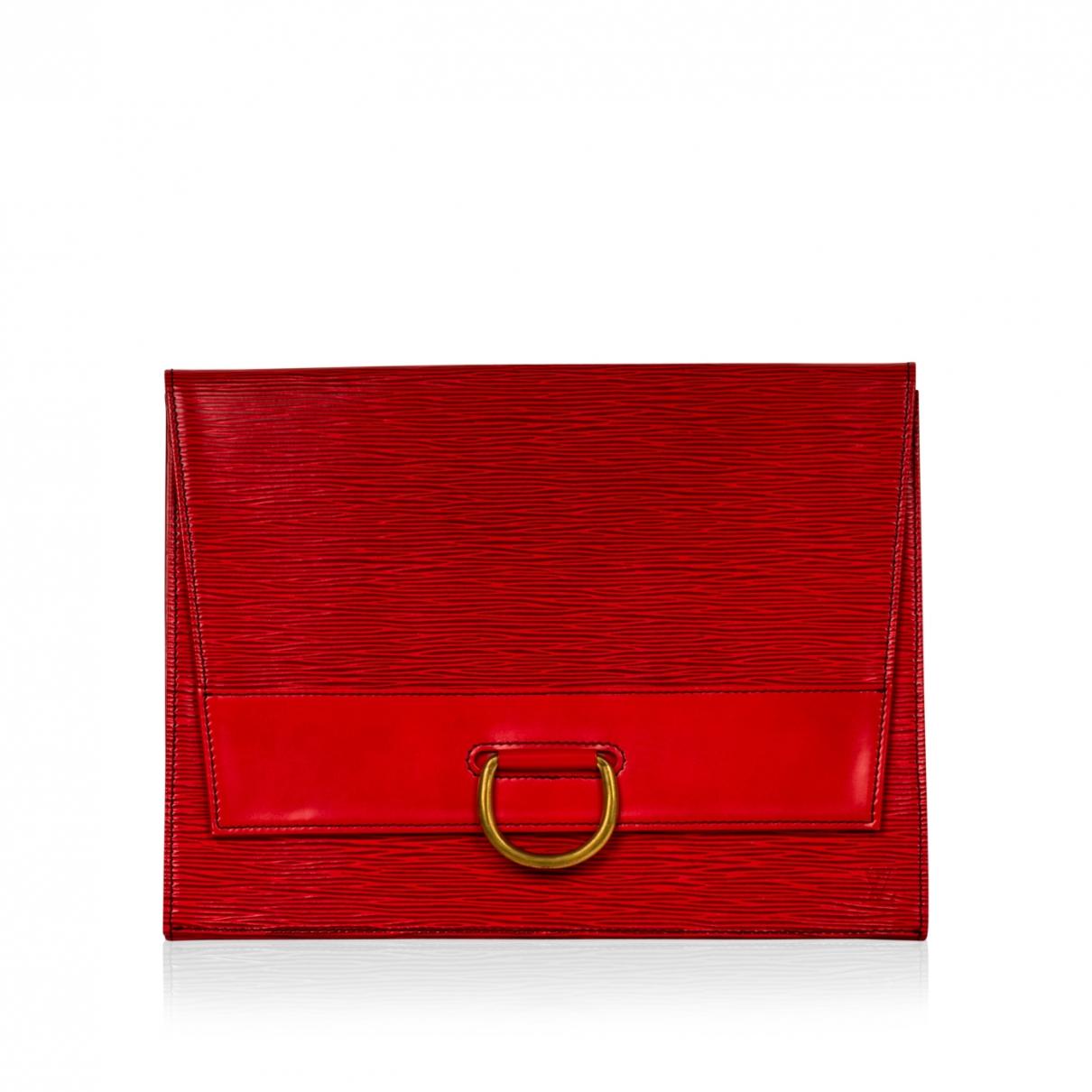 Louis Vuitton \N Red Cloth Clutch bag for Women \N