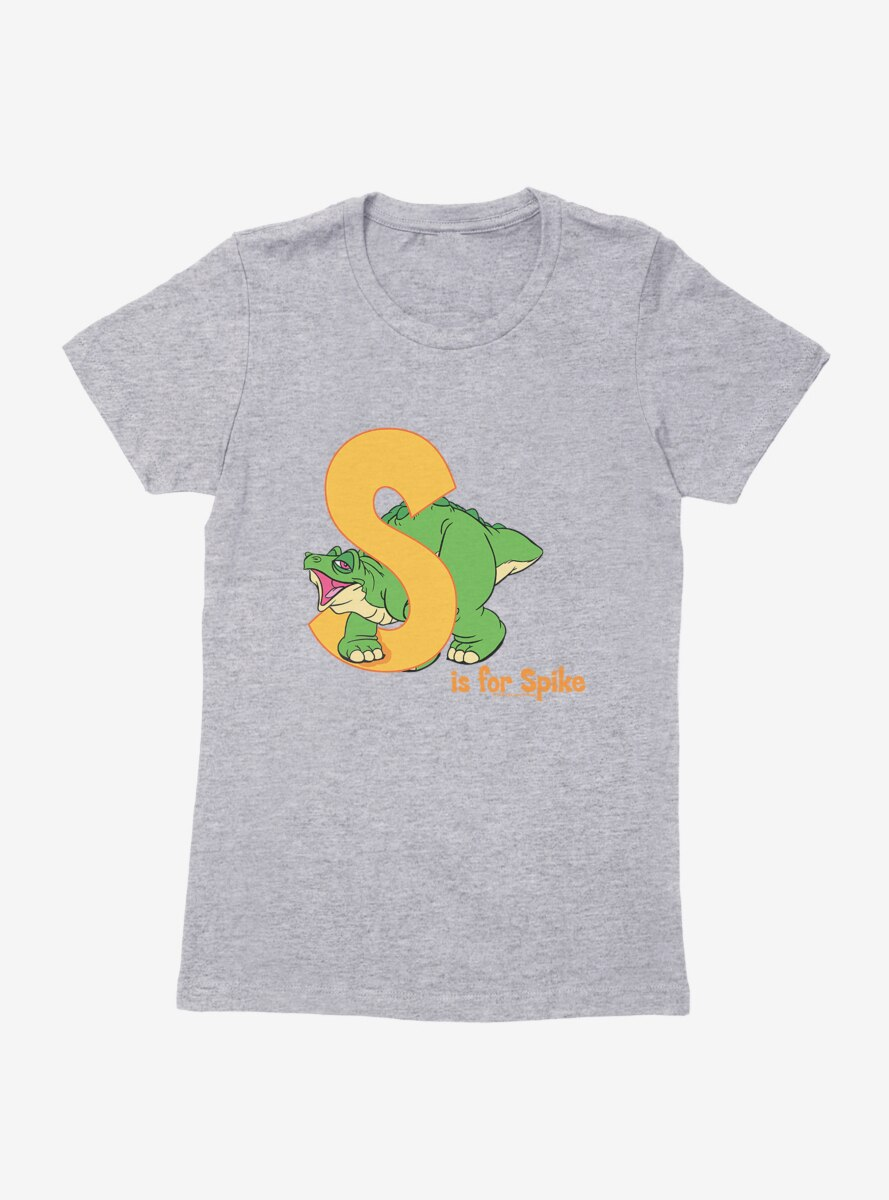 The Land Before Time S Is For Spike Alphabet Womens T-Shirt