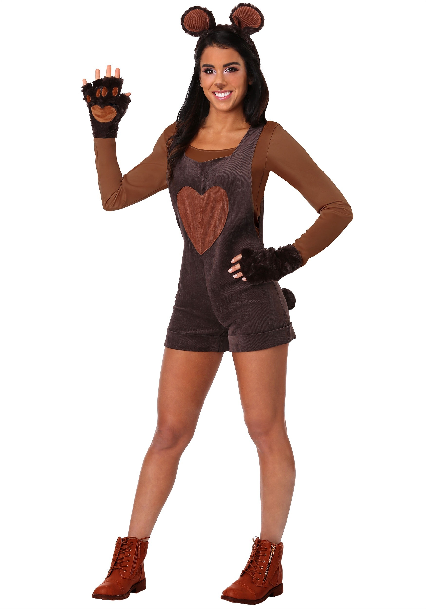 Cuddly Bear Costume for Women