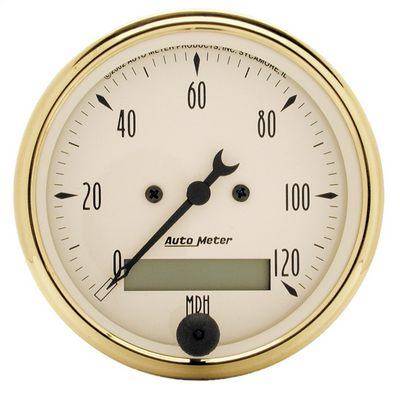 Auto Meter Golden Oldies Electric Programmable Speedometer, 3 1/8 Inch - AMG1588