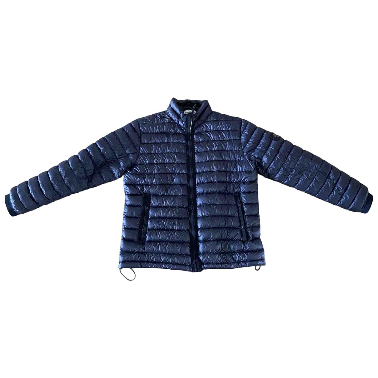 Stone Island \N Navy coat  for Men XXXL International