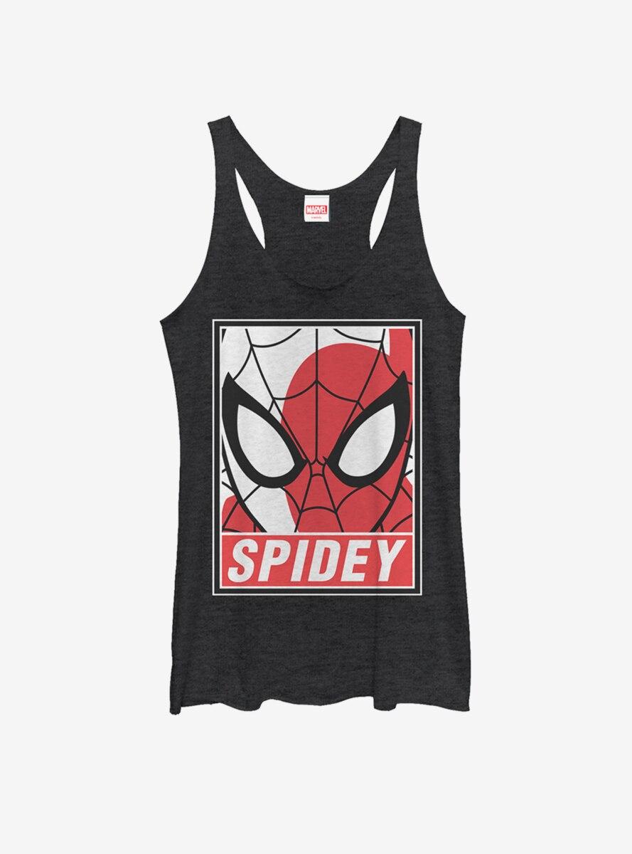 Marvel Spider-Man Portrait Womens Tank