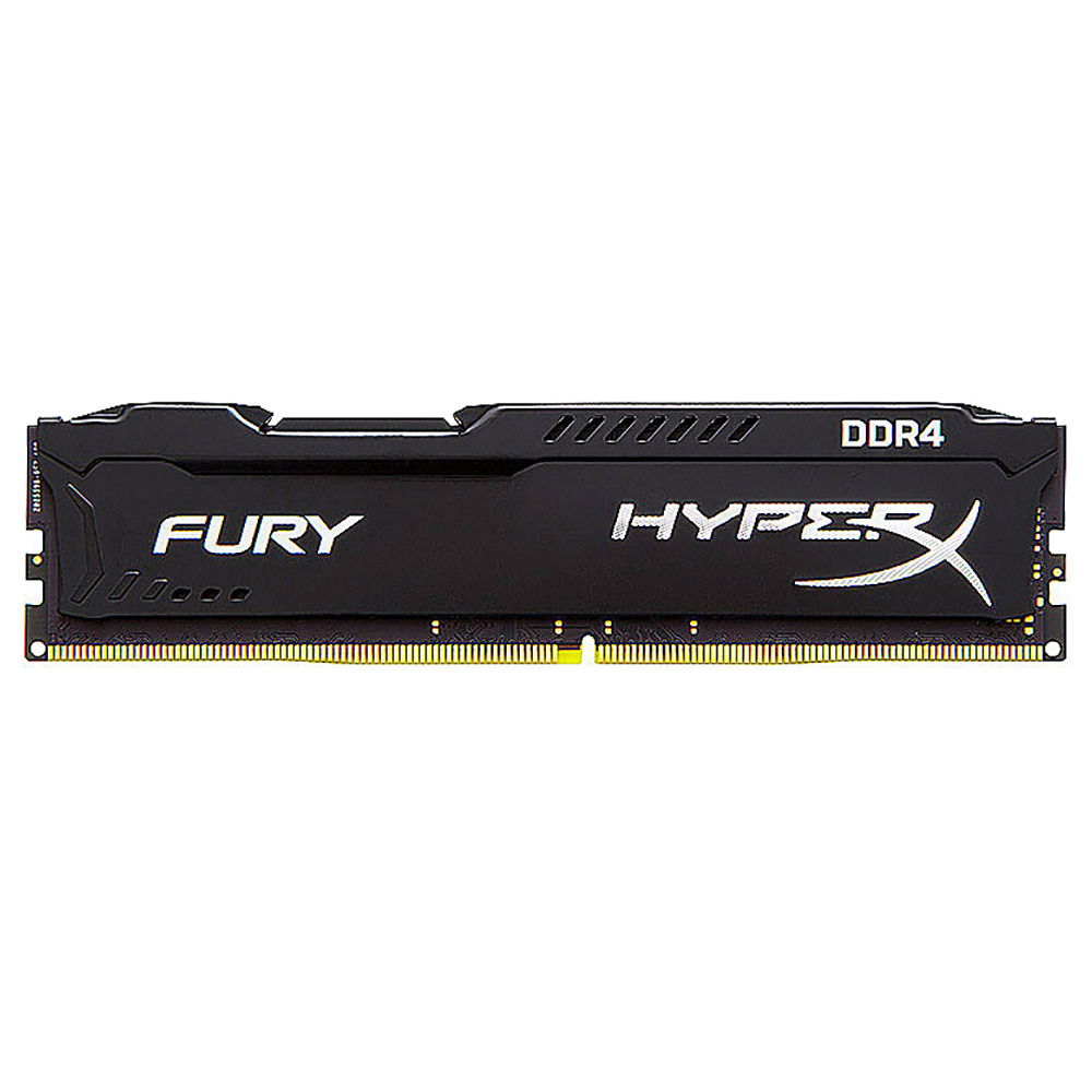 Kingston HyperX DDR4 2400MHz 8GB Desktop Memory Module - Black