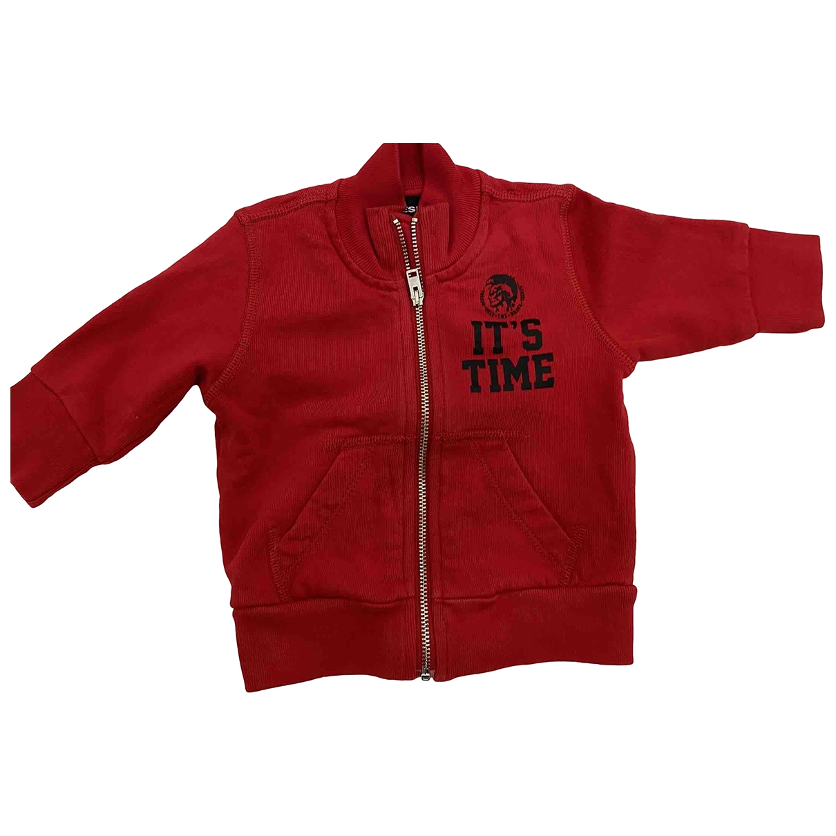 Diesel \N Red Cotton Knitwear for Kids 3 months - until 24 inches UK