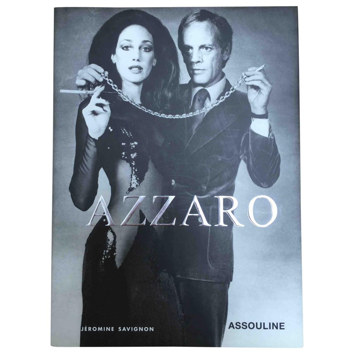 Azzaro \N Black Wood Fashion for Life & Living \N