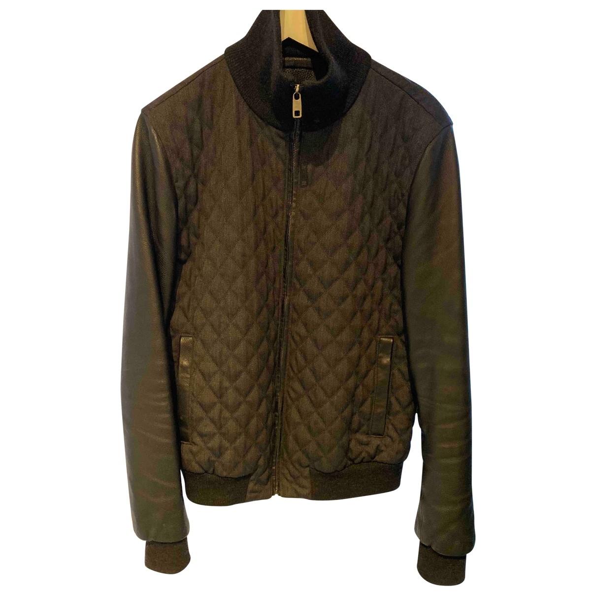 Dolce & Gabbana \N Anthracite Cotton jacket  for Men 52 IT