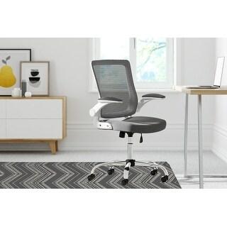 SCANDI ZIG Office Mat By Kavka Designs (Charcoal, Grey)