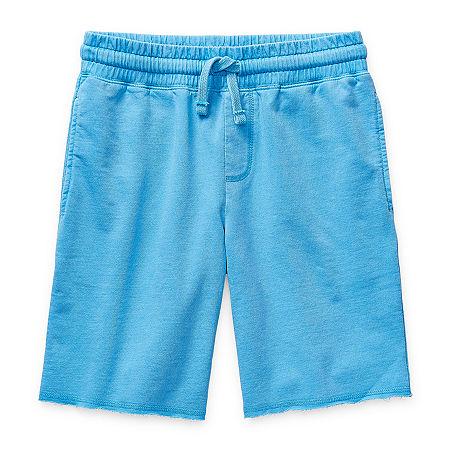 Arizona Little & Big Boys Jogger Short, Medium (10-12) , Blue
