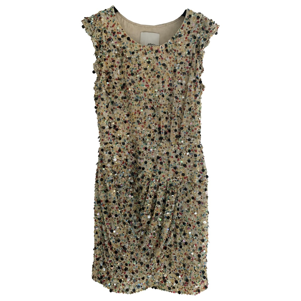 3.1 Phillip Lim \N Yellow Silk dress for Women 6 US