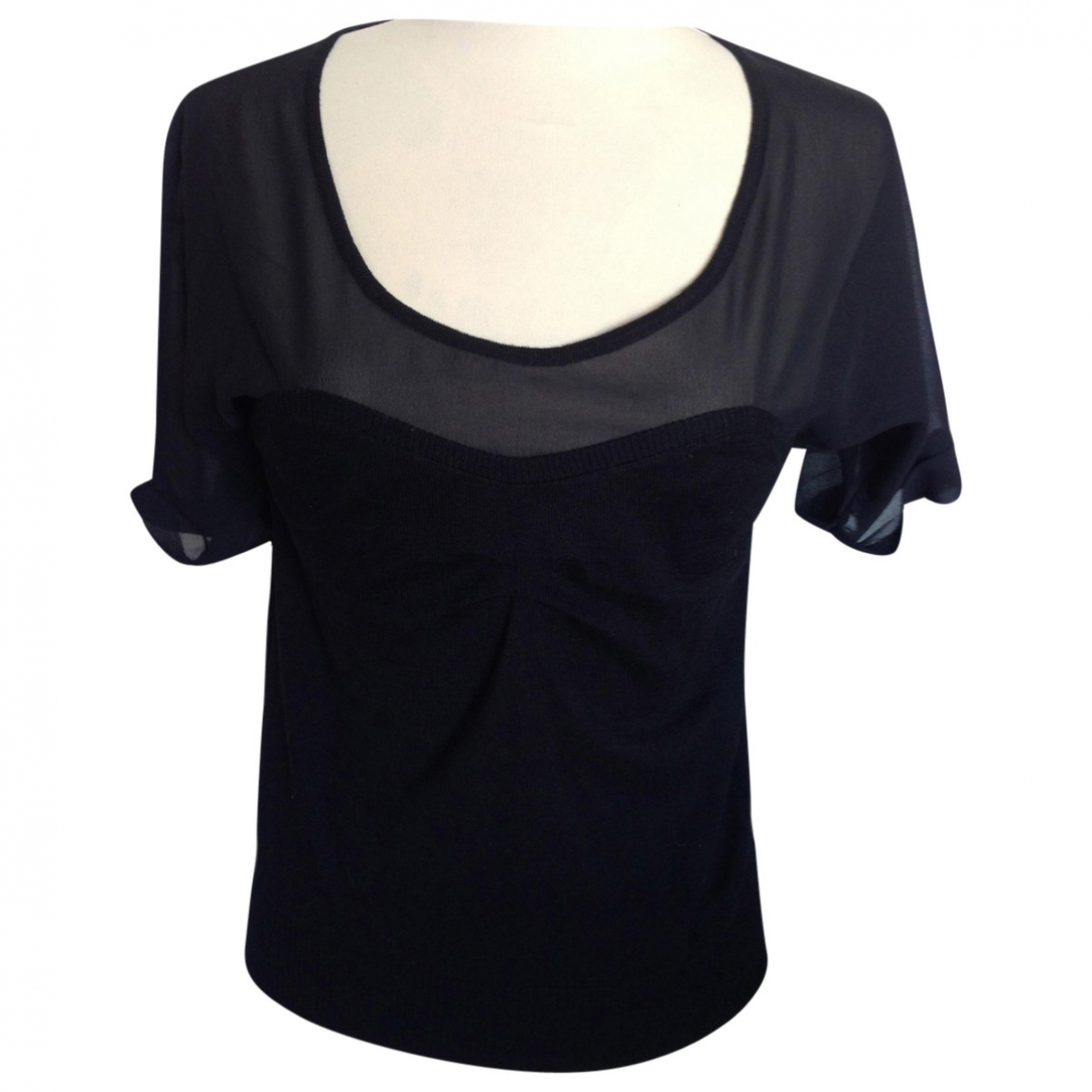 See By Chloé \N Black Wool  top for Women 36 FR