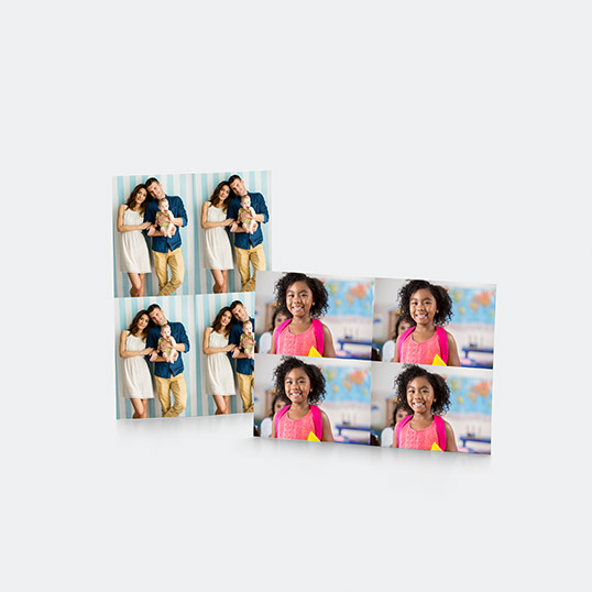 Wallet Prints, set of 4, Prints