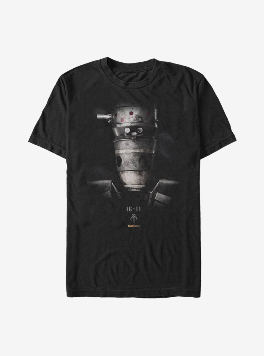 Star Wars The Mandalorian IG Portrait T-Shirt