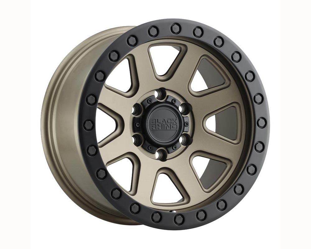 Black Rhino Baker Wheel 20x9 6x135 12 Matte Bronze w/Black Lip Edge and Black Bolts