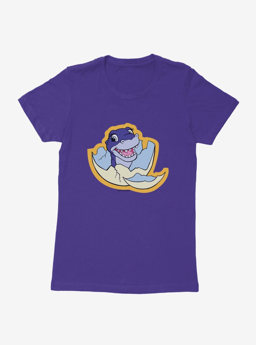 The Land Before Time Chomper Egg Womens T-Shirt