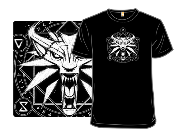 Wolf Medallion T Shirt