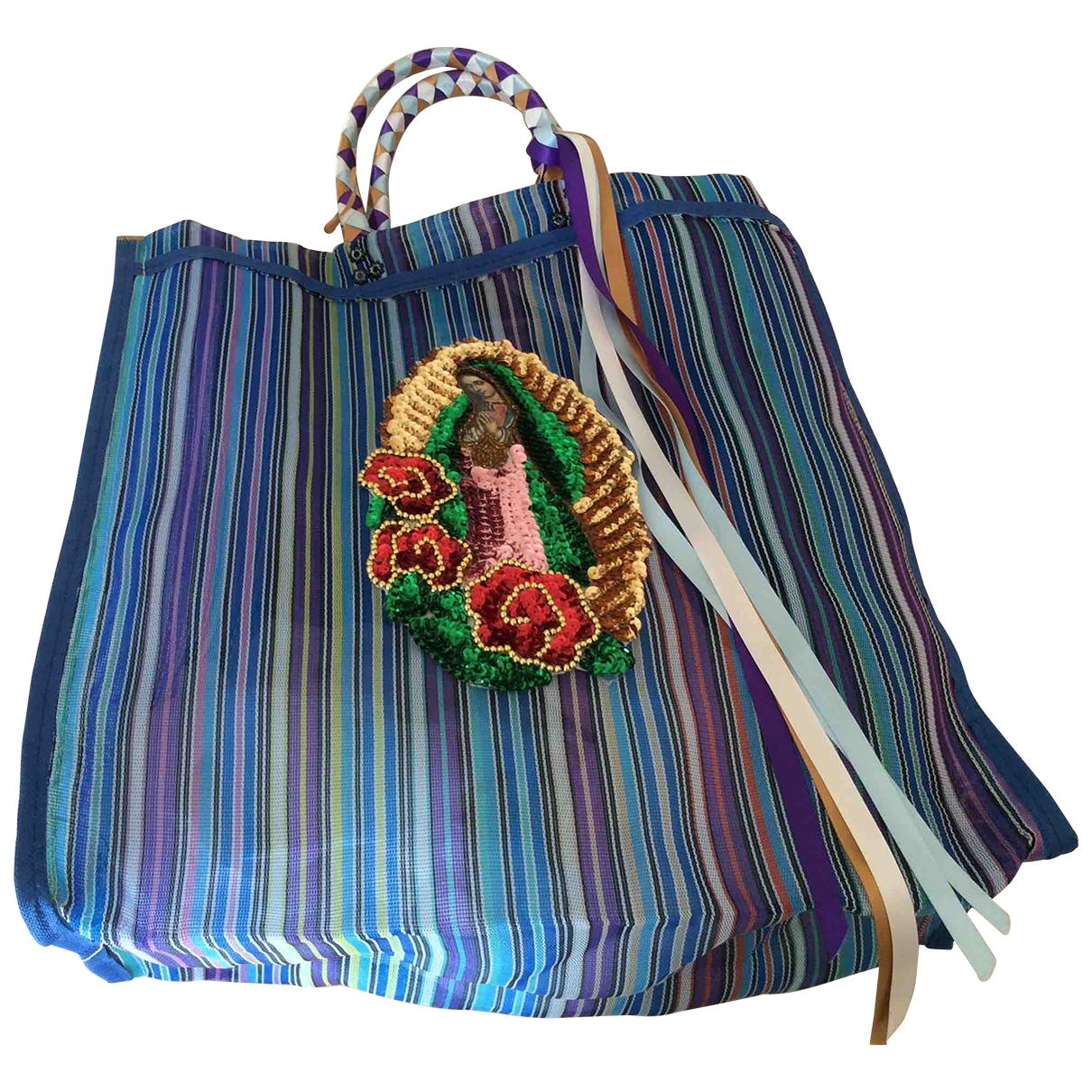 Non Signé / Unsigned \N Turquoise handbag for Women \N