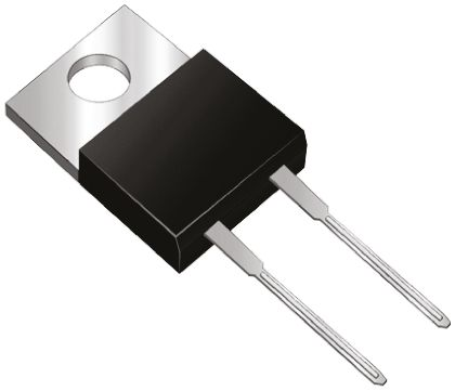 ON Semiconductor ON Semi 600V 8A, Silicon Junction Diode, 2-Pin TO-220 FFP08S60STU (5)