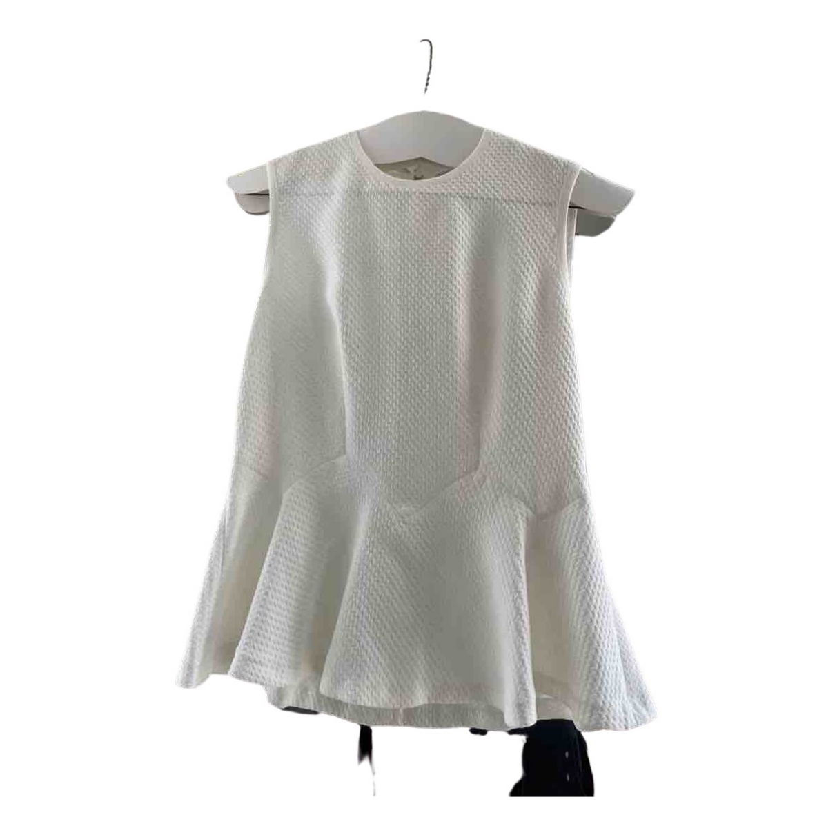 Sandro \N White Cotton  top for Women 2 US