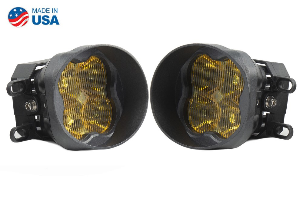Diode Dynamics DD6191-ss3fog-1836-GBFG SS3 LED Fog Light Kit for 2008-2013 Lexus IS-F Yellow SAE/DOT Fog Pro