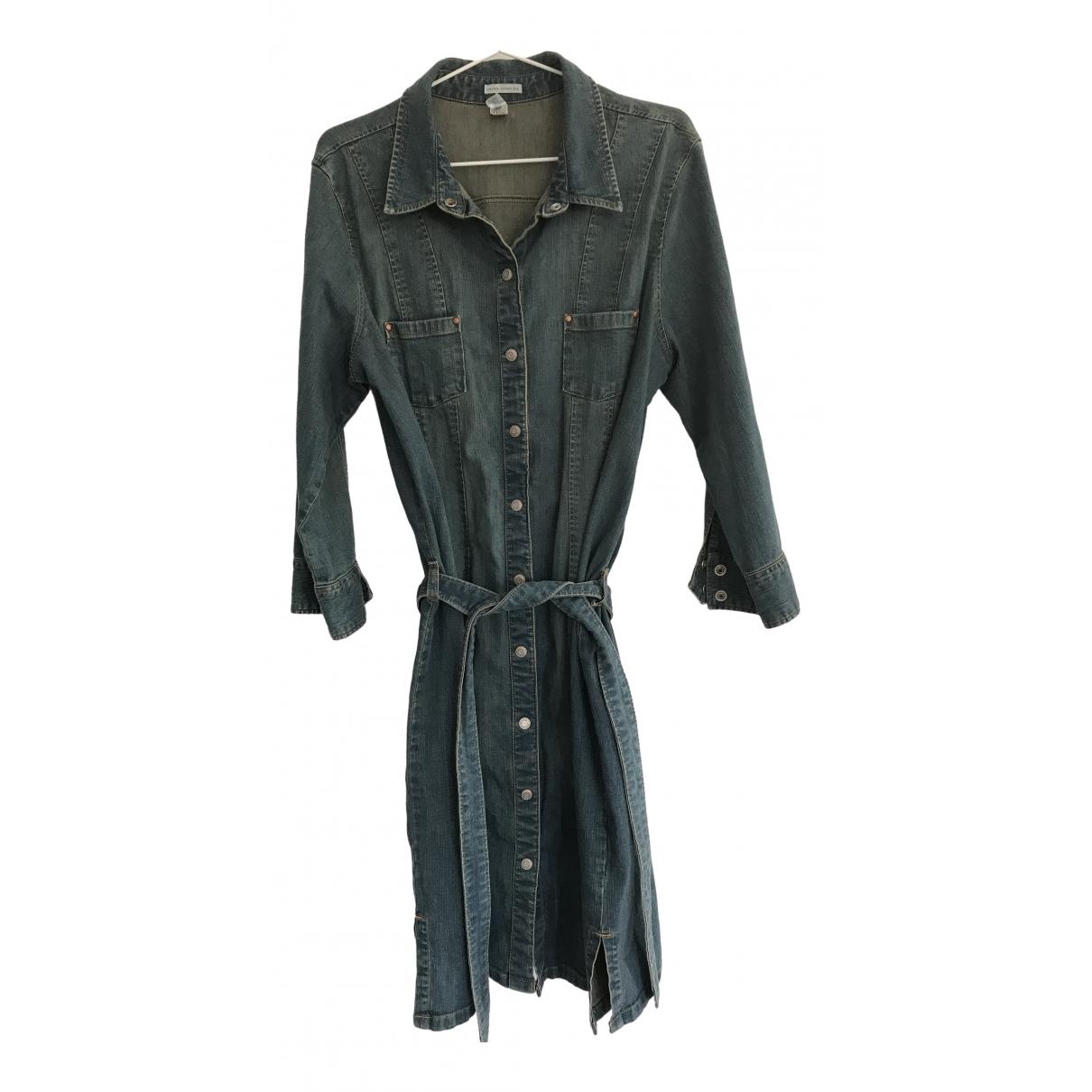 Non Signé / Unsigned \N Blue Cotton coat for Women M International