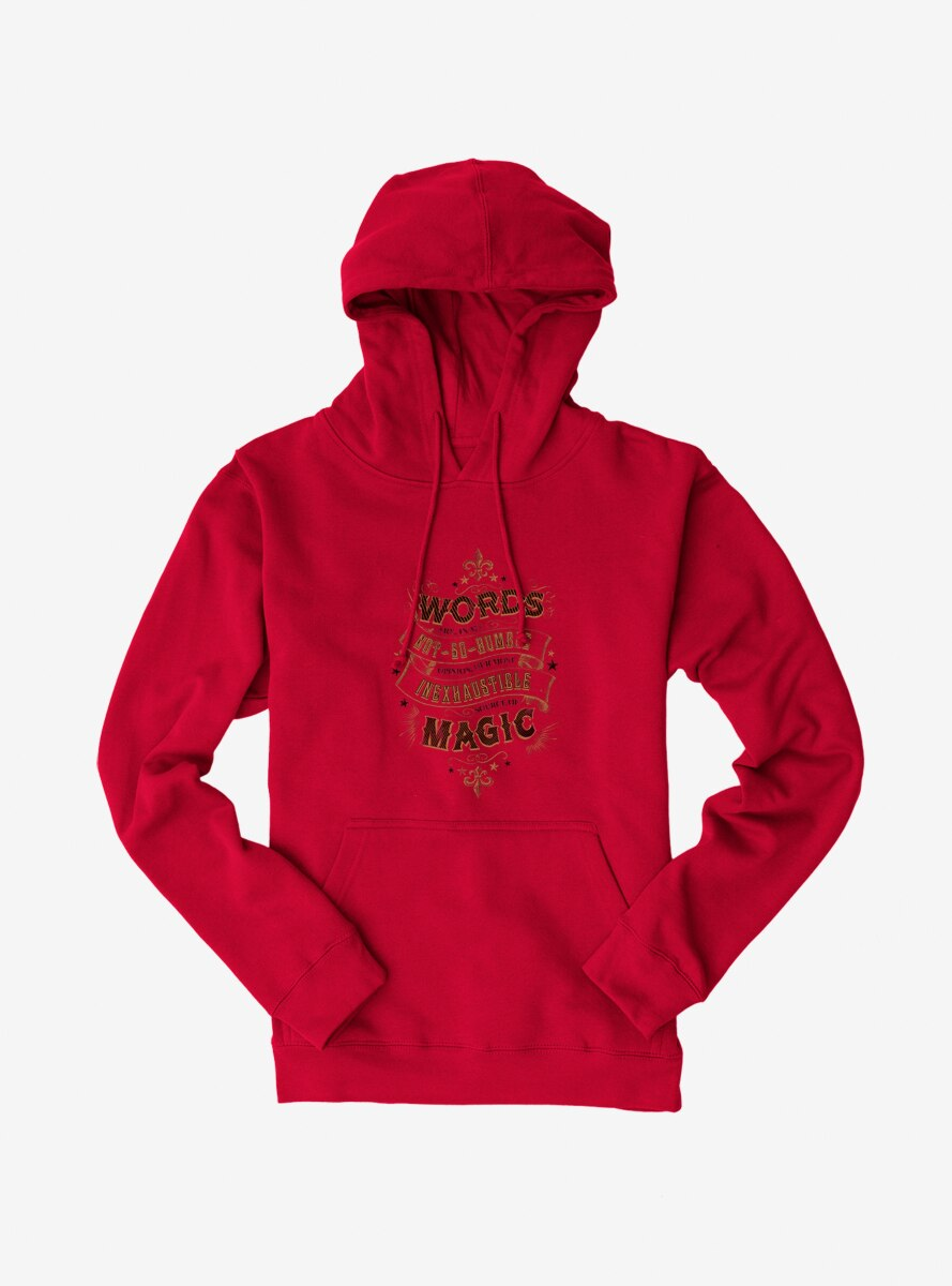 Harry Potter Words Are Magic Quote Hoodie