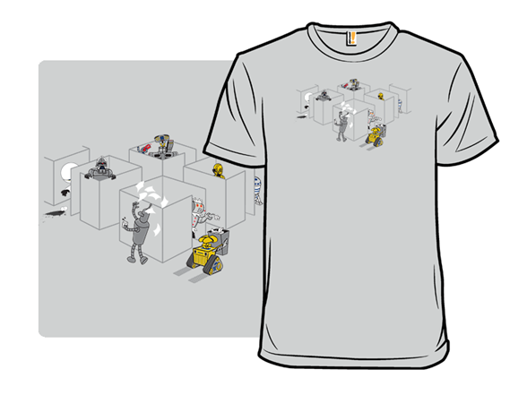Corporate Robots T Shirt