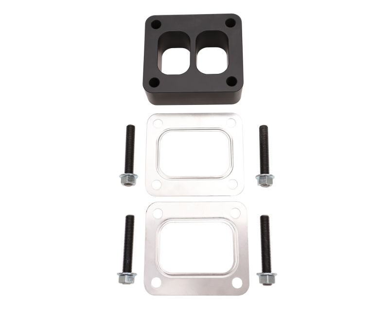 WCFab T4 Spacer Plate Kit 1.5 Inch with Studs and Gaskets Black