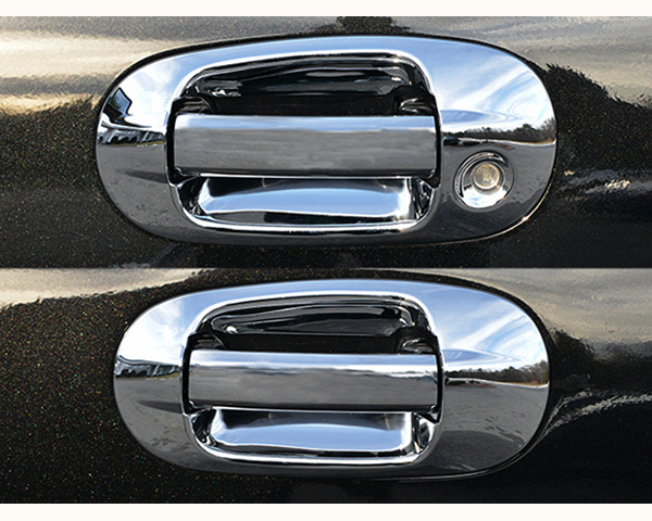Quality Automotive Accessories ABS   Chrome Door Handle Cover Kit Ford Expedition 2007