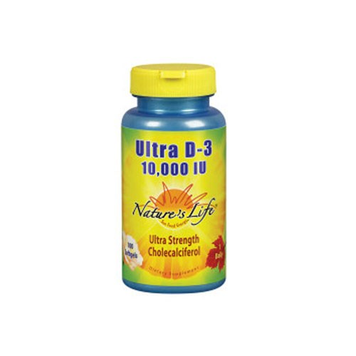Ultra D-3 100 Softgels by Nature's Life