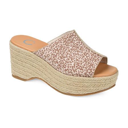 Journee Collection Womens Karmen Slip-On Shoe, 10 Medium, Multiple Colors