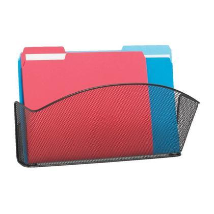 SAFCO® Onyx™ Steel-Mesh Wall Pockets - Legal, Individual Pocket