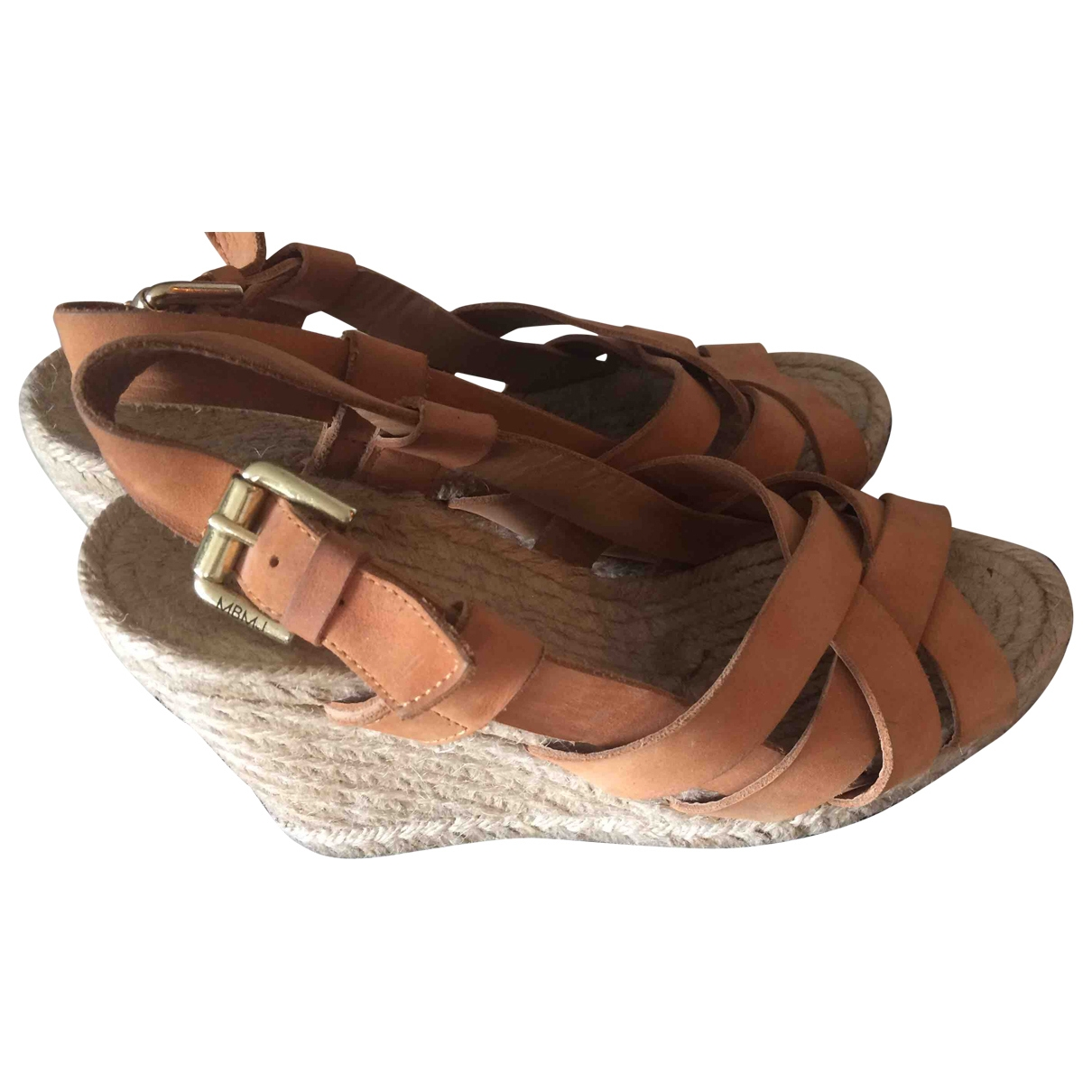 Marc By Marc Jacobs \N Brown Cloth Sandals for Women 37 EU