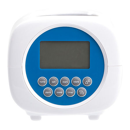 Discovery Kids Projection Alarm Clock Sound Machine, One Size , Multiple Colors
