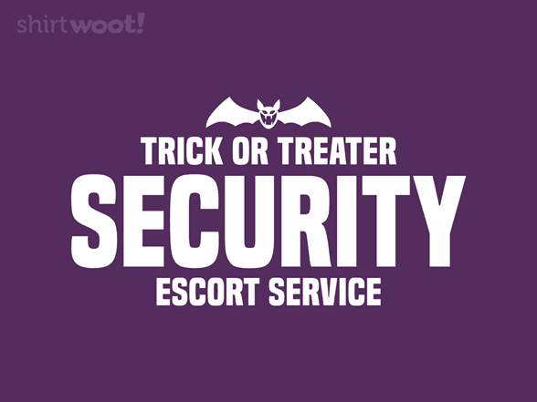 Trick Or Treater Security T Shirt
