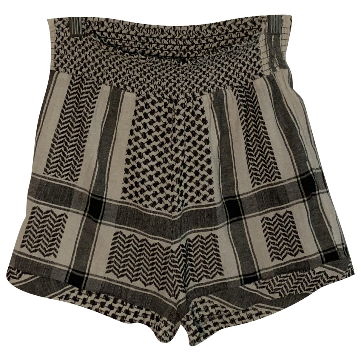 Cecilie Copenhagen \N White Cotton Shorts for Women 10 UK