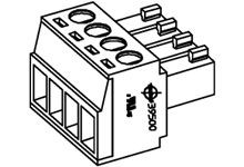 Molex , 39500 3.5mm Pitch, 3 Way PCB Terminal Block, Black (2100)