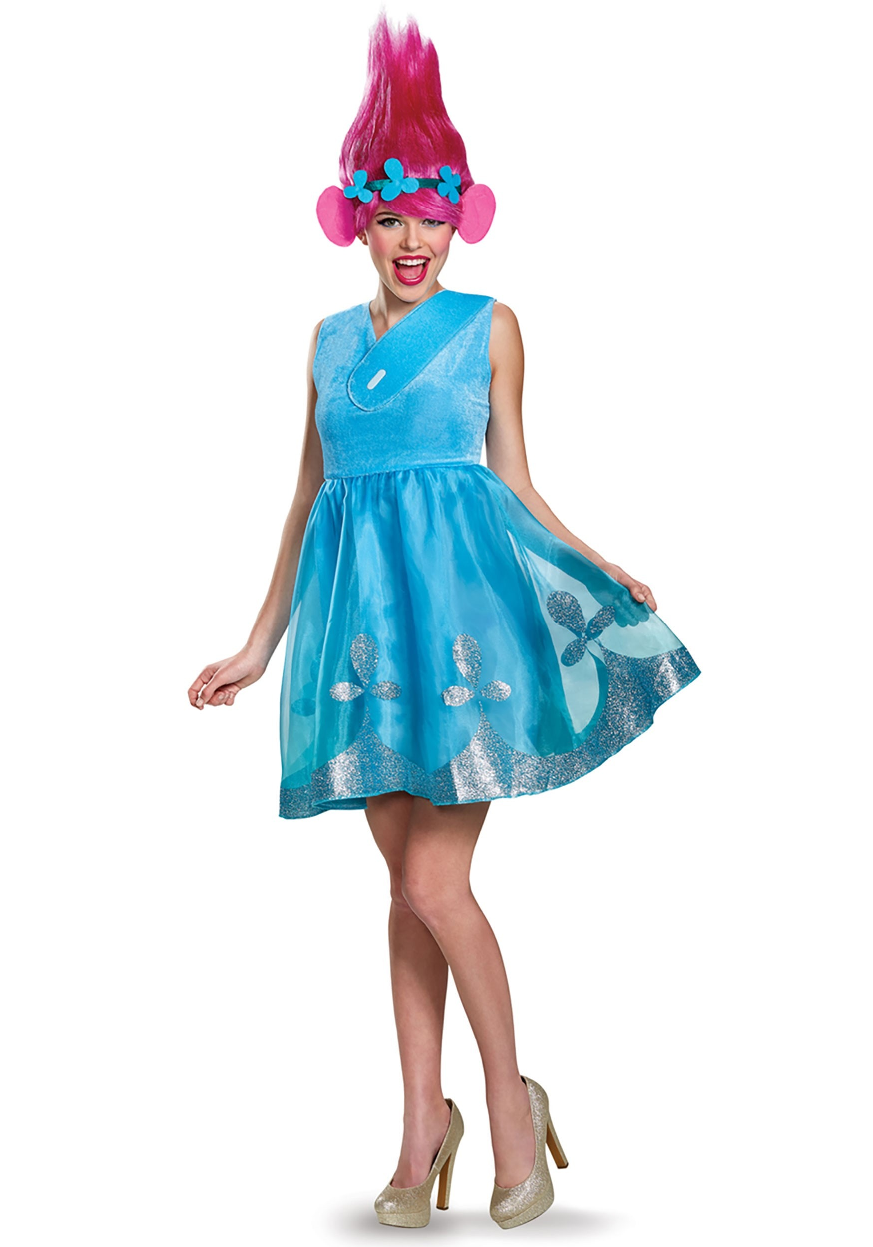 Trolls Poppy Deluxe Women's Costume