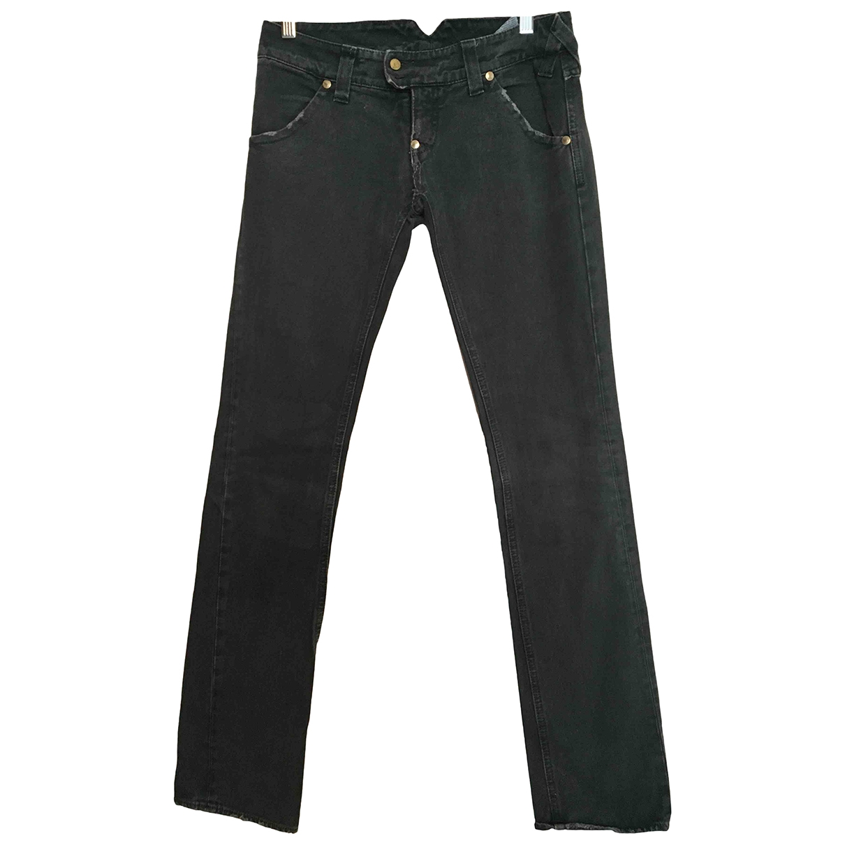 Cycle \N Green Cotton - elasthane Jeans for Women 26 US