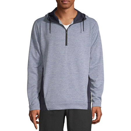 Msx By Michael Strahan Mens Long Sleeve Hoodie, Xx-large , Blue