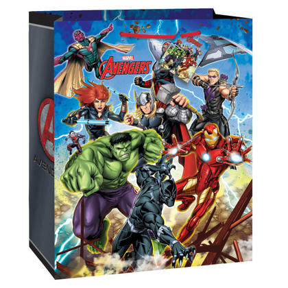 Avengers 1 Large Gift Bag For Birthday Party