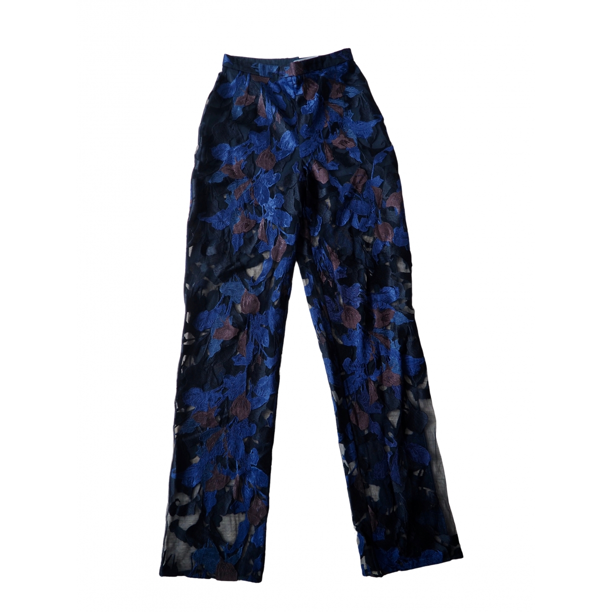 Peter Pilotto \N Multicolour Trousers for Women 8 UK