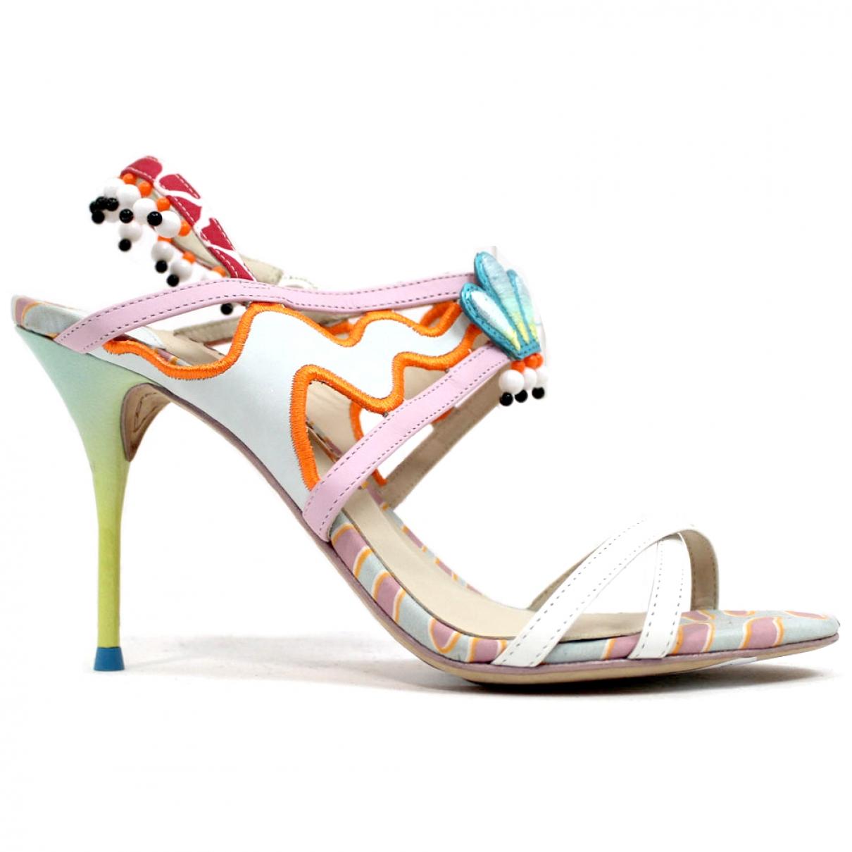 Sophia Webster \N Multicolour Leather Heels for Women 37 EU