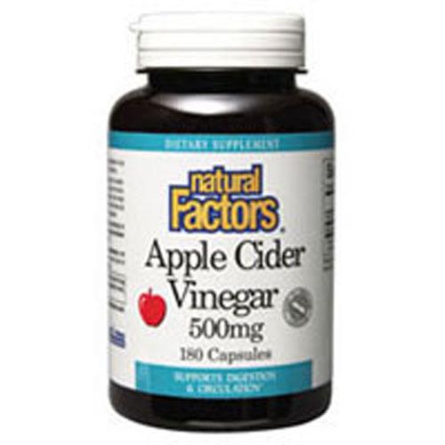 Apple Cider Vinegar 180 Caps by Natural Factors
