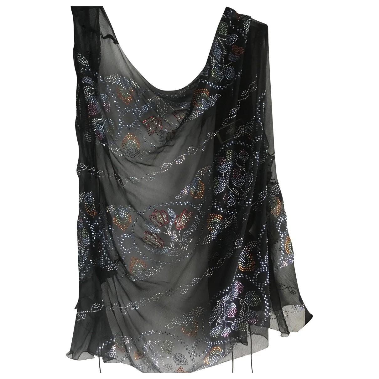 Fendi \N Black Silk  top for Women 44 IT