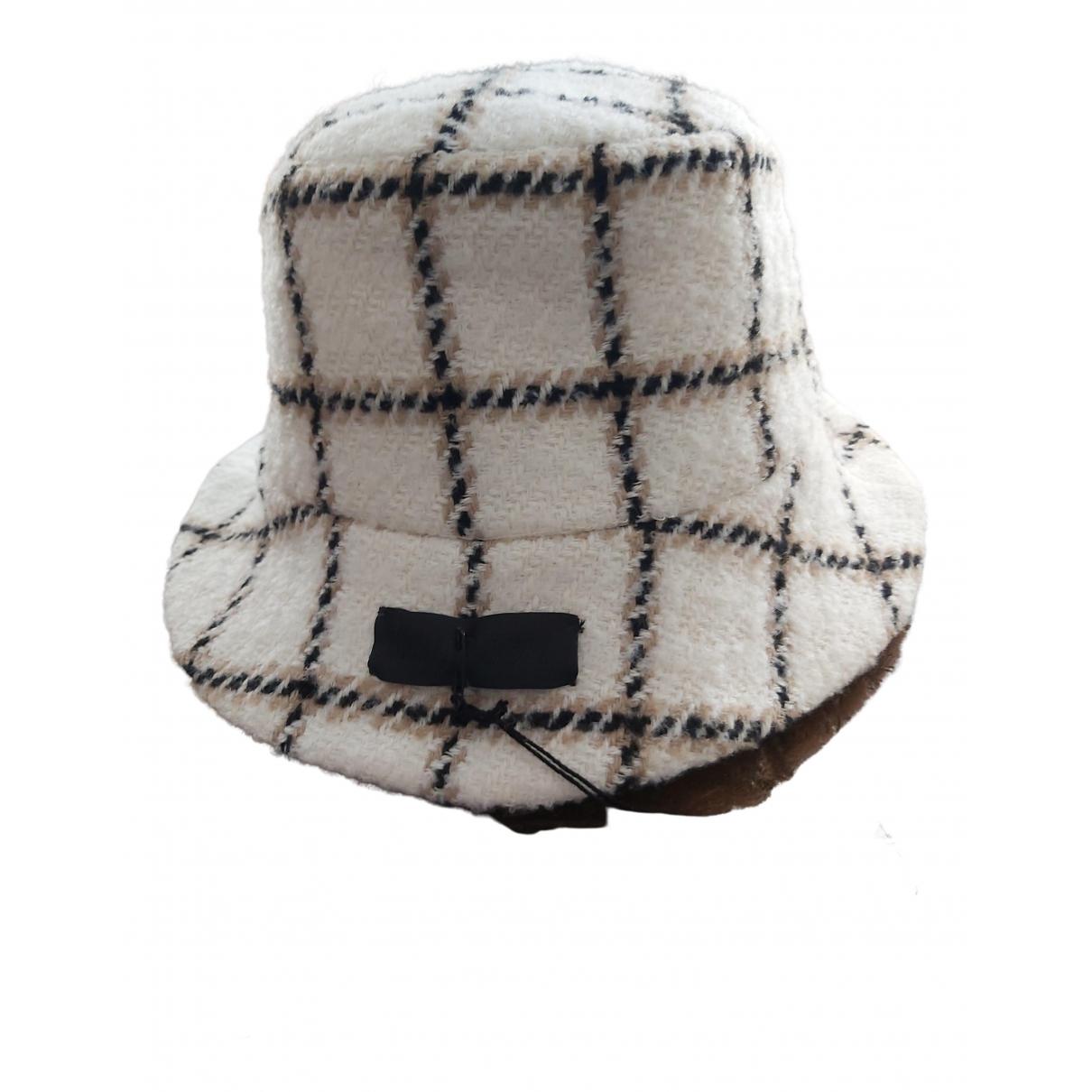Non Signé / Unsigned \N Ecru Wool hat for Women L International