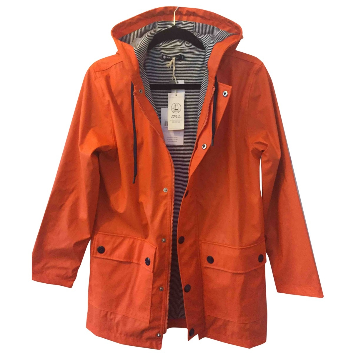 Petit Bateau \N Orange coat for Women XXS International